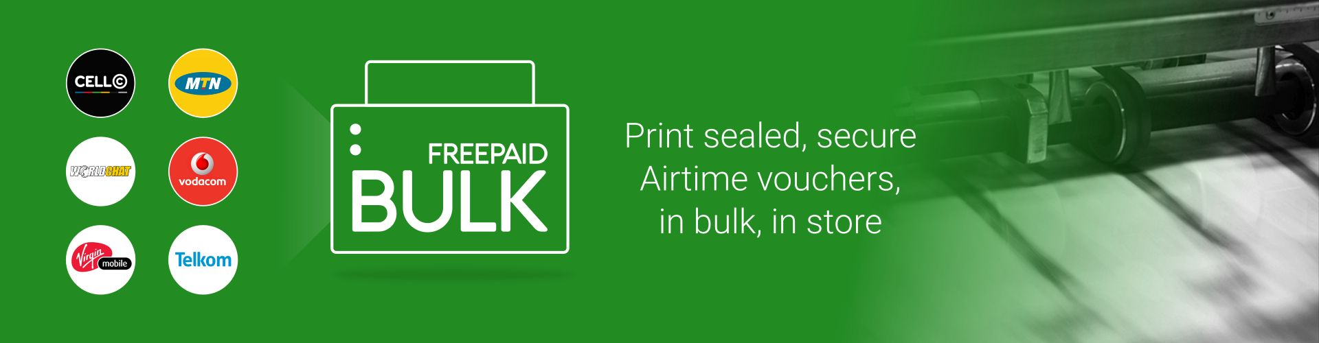 Sell Bulk Airtime Vodacom, MTN, Cell C without our Bulk Airtime software